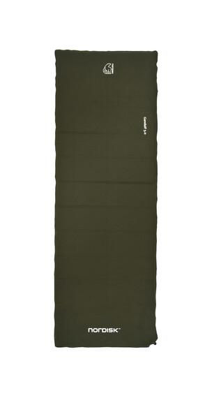 Nordisk Gandalf 5.0 zelf-opblaasbare slaapmat groen/zwart
